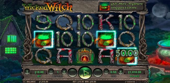 Wicked Witch No Download Slot Game