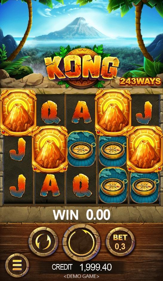 Kong Slot หรือ เกมส์สล็อตคิงคอง