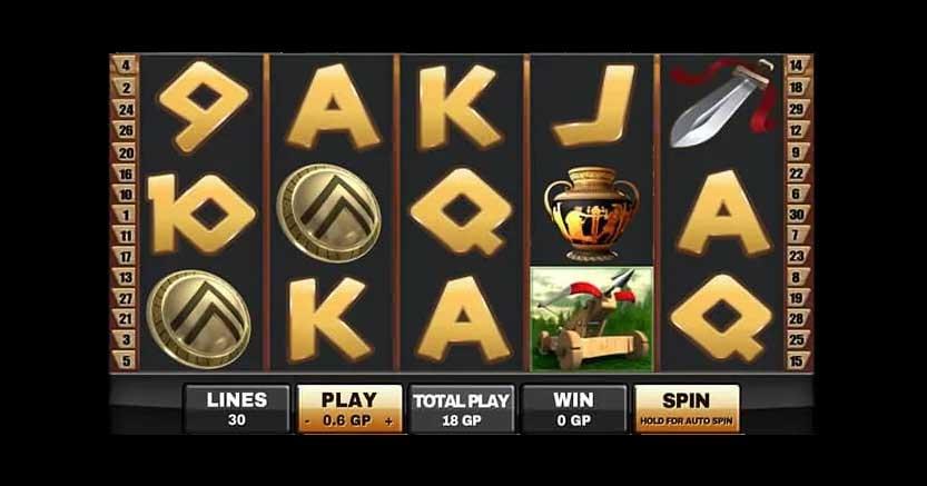 รีวิว Sparta สล็อตสปาต้า ค่าย Joker Gaming